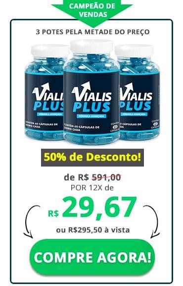 Vialis Plus Preço 3 Potes